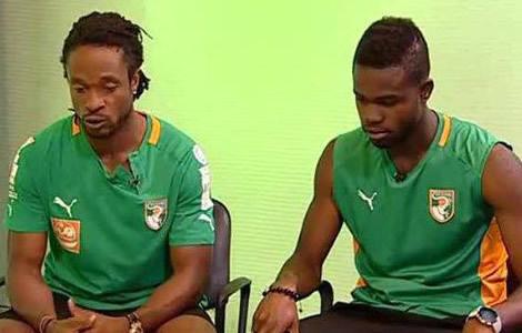 Football-Eléphants: Les Ivoiriens veulent une sanction de Gosso et Razack