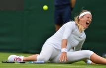 Wimbledon: Azarenka, blessée au genou, forfait pour son 2e tour