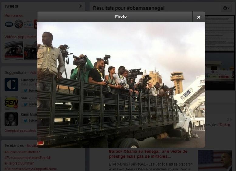 #ObamaTakh : Le séjour de @BarackObama commenté par les #kebetu sur Twitter