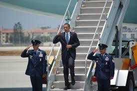 Obama a foulé le sol du Sénégal