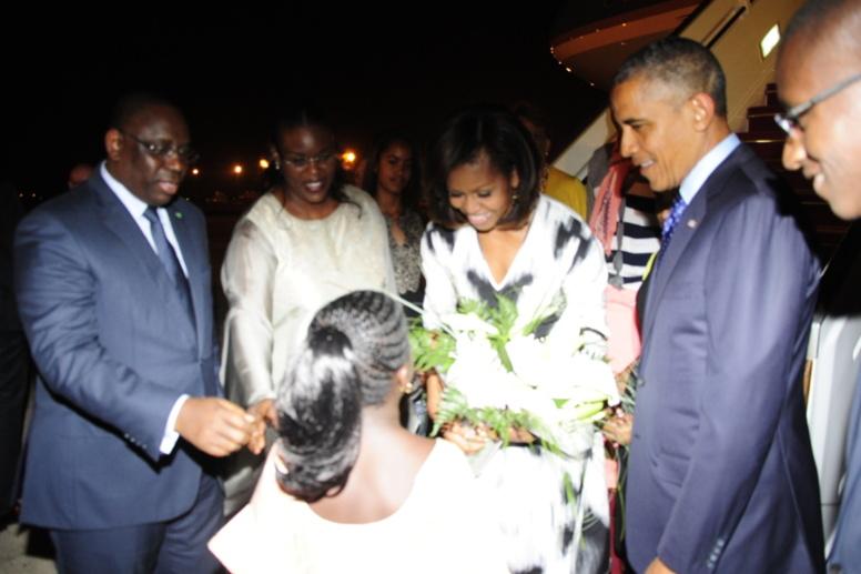 PHOTOS & VIDEO Visite de Barack Obama au Sénégal: les images de l'accueil
