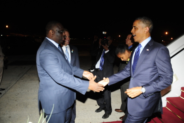 Accueillir aussi «le leader afro-américain» et pas seulement « le Président » !