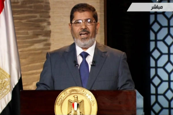 Egypte : discours sans concession du président Morsi