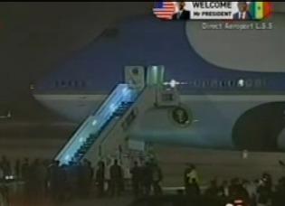 Arrivée Barack Obama: la face mouvementée d'un accueil sous haute tension