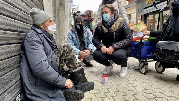 France: crise sanitaire et sans-abri, les places d'hébergement d'urgence prolongées jusqu'à fin mars 2022