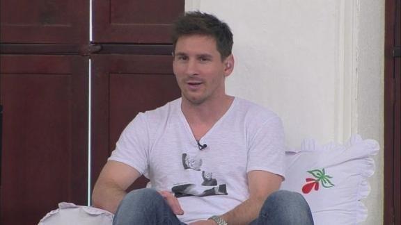Messi à Saly : « Neymar va apporter beaucoup au Barça »