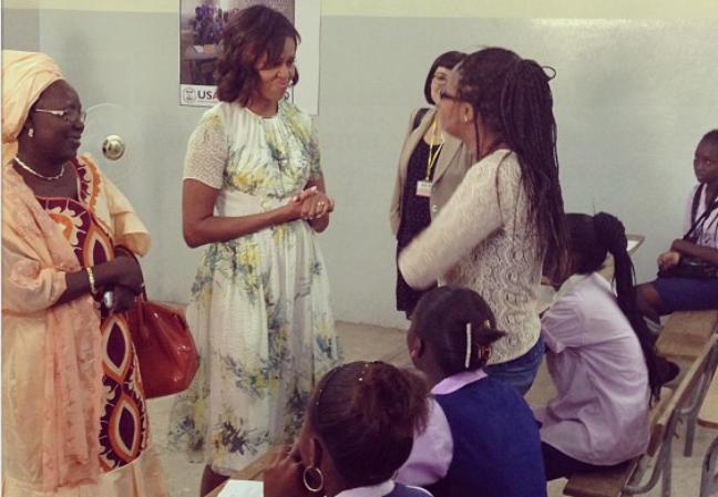 Michelle Obama débarque sur Instagram!