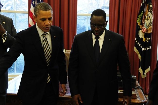 Fin de visite d'Obama: le président Sall se félicite du « repositionnement du Sénégal sur la scène diplomatique internationale »