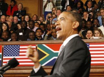 Au Cap, Barack Obama promet des milliards pour développer les réseaux électriques en Afrique