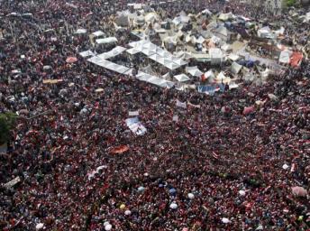 Manifestation place Tahrir, au Caire, Egypte. REUTERS/Mohamed Abd El Ghany
