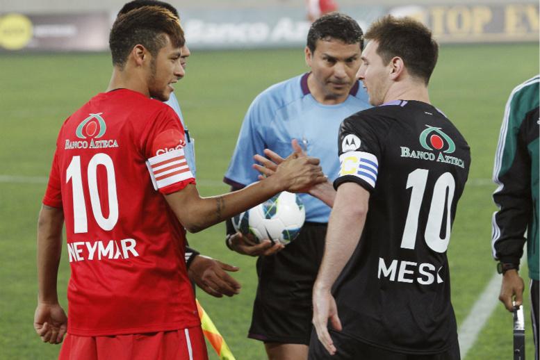 Match de bienfaisance: Messi et Neymar ont assuré le spectacle