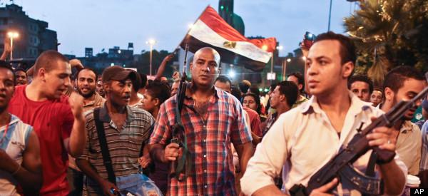 EGYPTE / FIN DE L'ULTIMATUM: l'armée se déploie, la population attend de connaître le sort de Mohamed Morsi