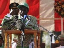 Robert Mugabe a lancé sa campagne le 5 juillet face à ses supporters. REUTERS/Philimon Bulawayo