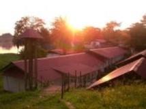 L'hôpital fondé par Albert Schweitzer à Lambaréné, au Gabon. Site de la Fondation Schweitzer