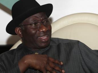 Le président nigérian Goodluck Jonathan se rend en Chine