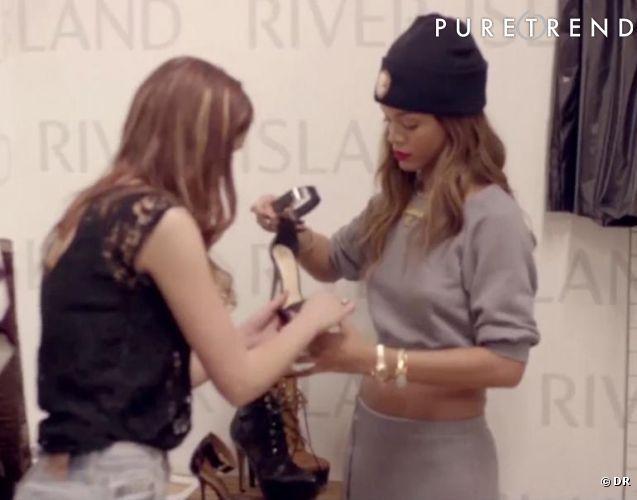 Rihanna : dans les coulisses de sa collection d'automne pour River island