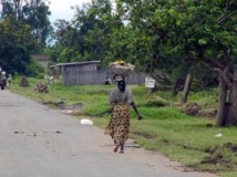 Une femme au Burundi.