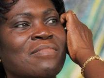 La justice ivoirienne a confirmé mercredi 10 juillet les charges retenues contre 84 proches de l'ex-président Laurent Gbagbo, dont son épouse Simone Gbagbo (ici en 2009).