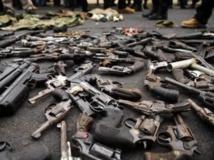 Des armes. REUTERS/Ulises Rodriguez
