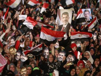 La place Rabaa al-Adawiya au Caire le 12 juillet 2013. REUTERS/Mohamed Abd El Ghany