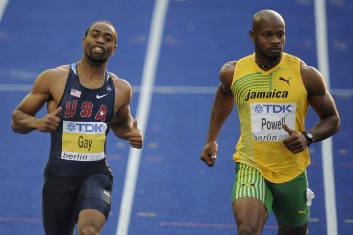 Athlétisme: Tyson Gay et Asafa Powell contrôlés positifs