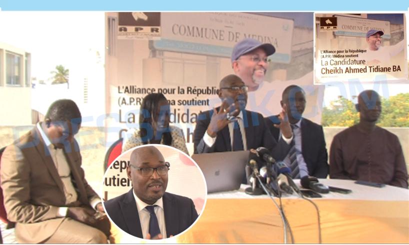 Locales 2022: Les aperistes de la Médina portent leur choix sur Cheikh Ahmed Tidiane Ba
