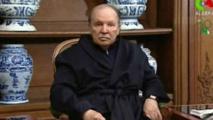 Abdelaziz Bouteflika à Paris, sur des images télévisée le 12 juin 2013.