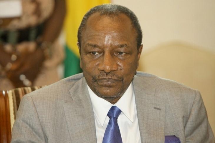 Alpha Condé, le président de la Guinée, a lancé un appel au calme à la télévision, mardi 16 juillet..