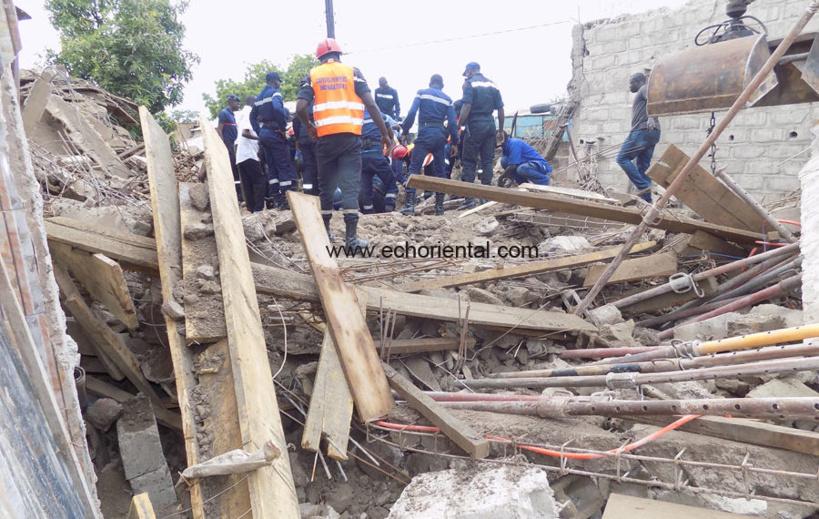 Tamba: l'effondrement d'un bâtiment fait un mort et quatre blessés