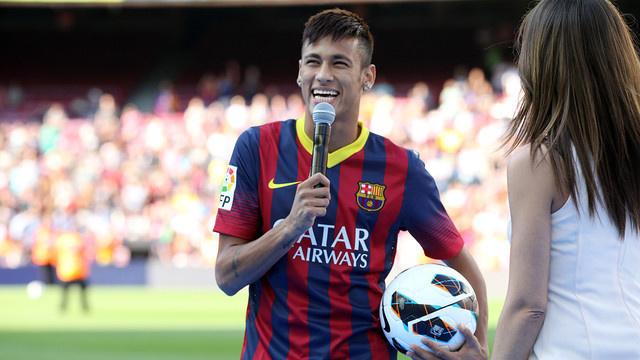 Barça : Neymar prend le 11