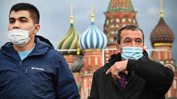 Covid-19: le maire de Moscou décrète une semaine chômée face à la hausse des cas