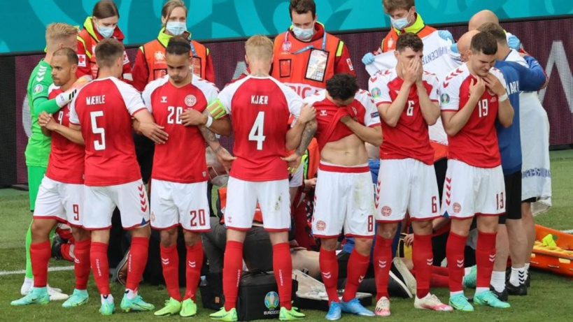 Euro 2021: Christian Eriksen s'effondre en plein match contre la Finlande