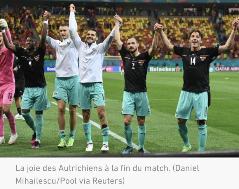 Euro: L'Autriche s'en sort contre la Macédoine du Nord (3-1)