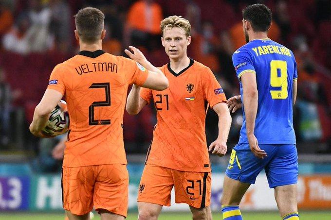 Euro: les Pays-Bas s'imposent face à l'Ukraine au terme d'un match haletant