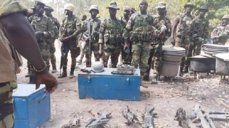 Casamance: l'Armée a repris 5 nouvelles bases du MFDC