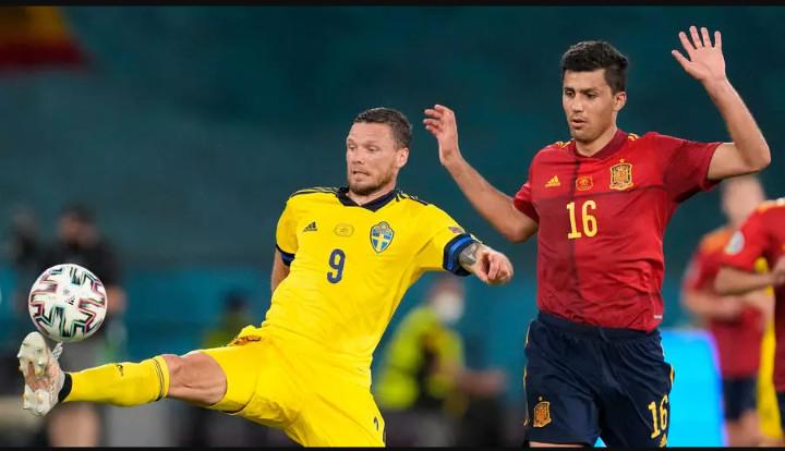 Euro-2021 :  l'Espagne et la Suède se quittent sur un match nul