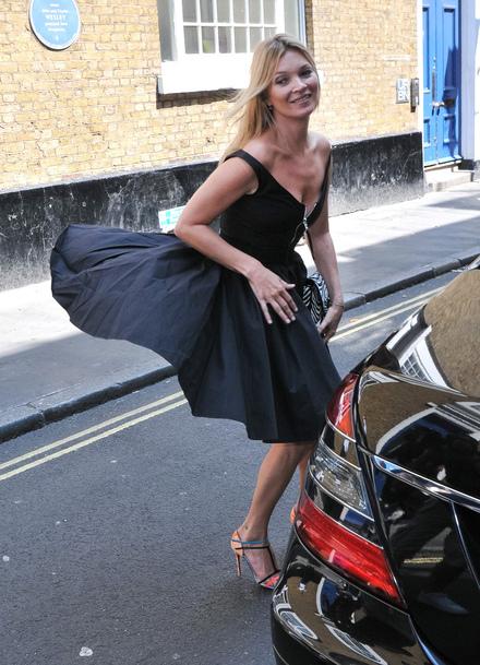 Kate Moss victime d'un accident fashion !