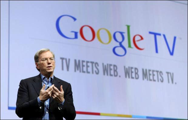 Google présente un service de TV par internet