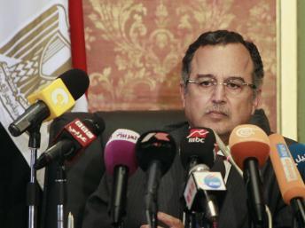 Le nouveau chef de la diplomatie égyptienne, Nabil Fahmy, le samedi 20 juillet, dresse les grandes lignes de la politique étrangère de son pays. REUTERS/Mohamed Abd El Ghany