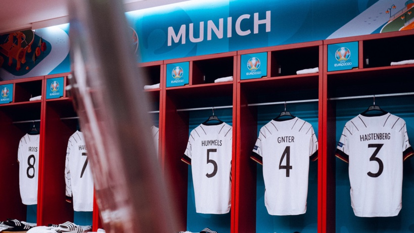 La Compo officielle de l'Allemagne contre la France