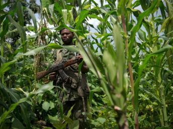 L'Ituri est occupée par de nombreux groupes armés, dont les rebelles maï-maï. AFP PHOTO/PHIL MOORE