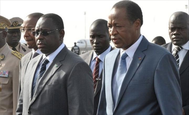 La crise malienne au menu des échanges entre les présidents Macky Sall et Blaise Compaoré
