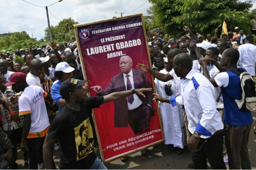 Côte d'Ivoire: Arrivée de #Gbagbo à l'aéroport de #Bruxelles