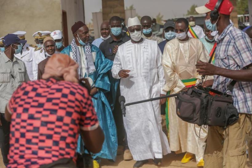 Accueil de Macky dans le Fouta: Harouna Dia met les bouchées doubles…