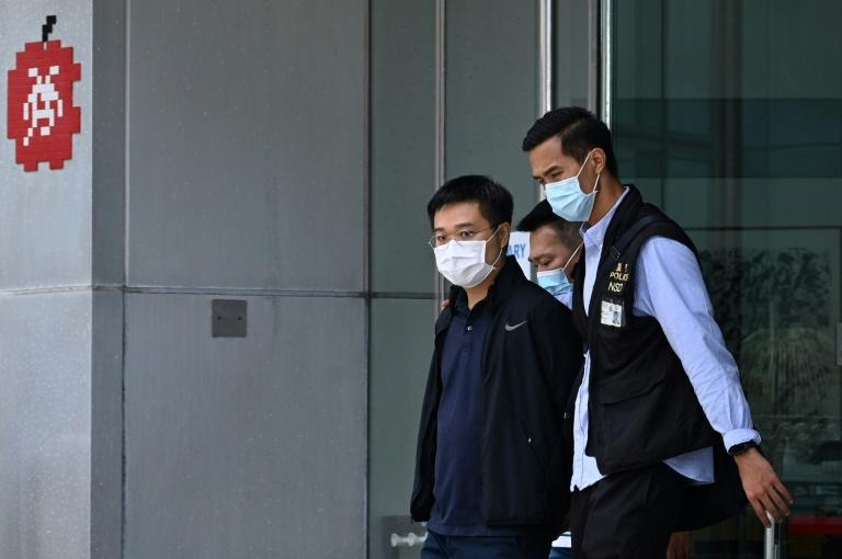 Hong Kong: libération sous caution refusée pour deux responsables du journal pro-démocratie Apple Daily