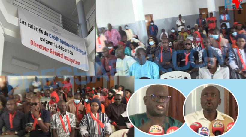 Les salariés du Crédit Mutuel du Sénégal exigent le départ de leur directeur général