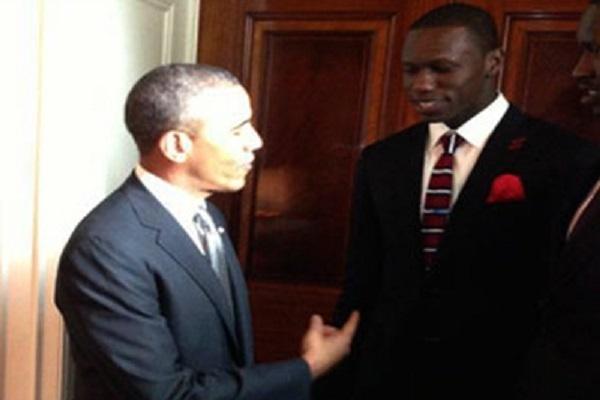 Obama souhaite bonne chance en NBA à Gorgui Sy Dieng