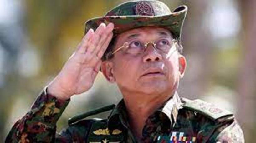 Min Aung Hlaing, le chef de la junte birmane, à Moscou