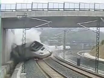 Catastrophe ferroviaire en Espagne: le conducteur du train en garde à vue