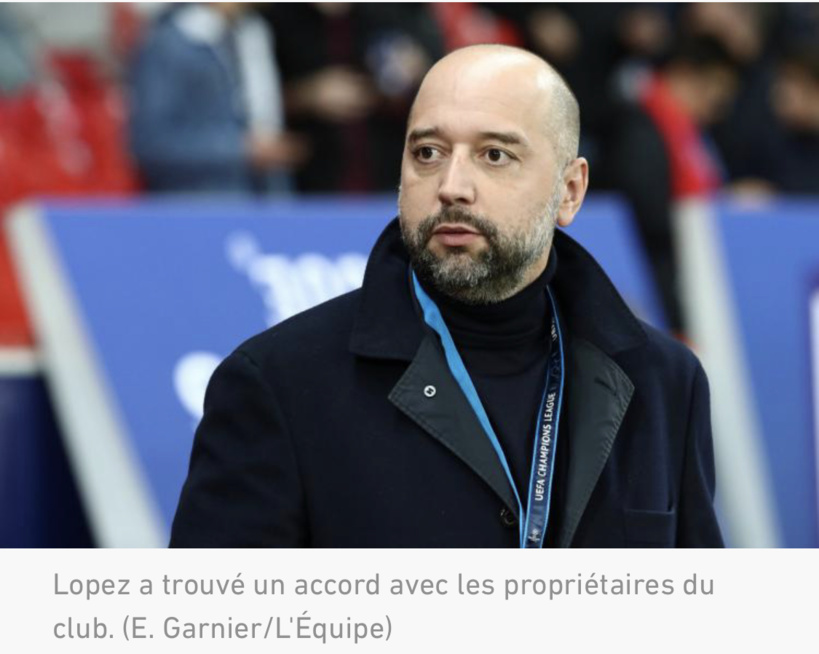 Accord trouvé entre les propriétaires de Bordeaux et Gérard Lopez pour le rachat du club